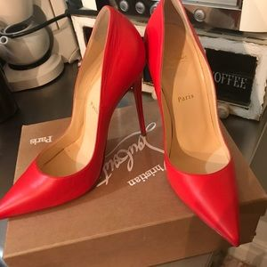 Christian Louboutin So Kate Heels 120. Worn Once